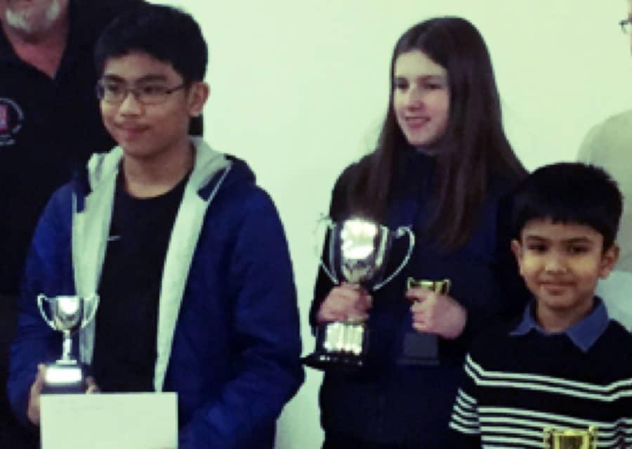 Shreyas Royal – U14 champion