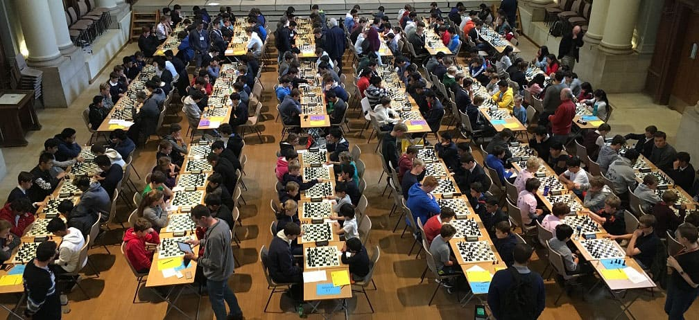 ECF Secondary School Rapidplay Chess Tournament at Eton College