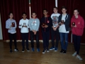Individual Blitz winner and runners-up