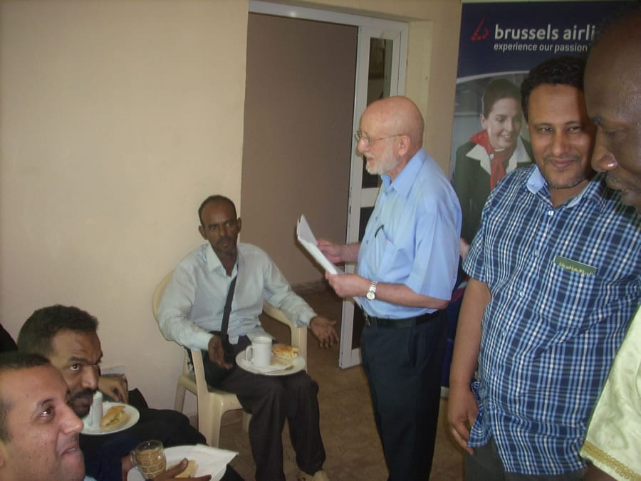 muritanian_delegation_having_breakfast