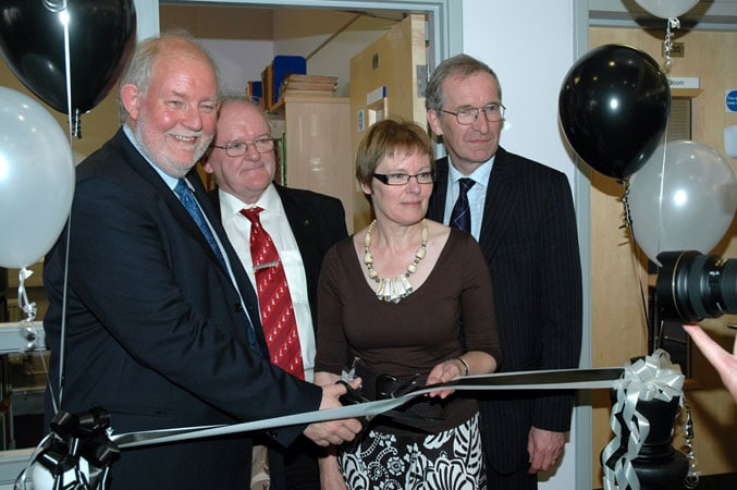 The Official Opening - picture by John Saunders