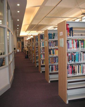 A view of the UC library