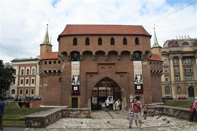 Barbican, West Gate, Krakow