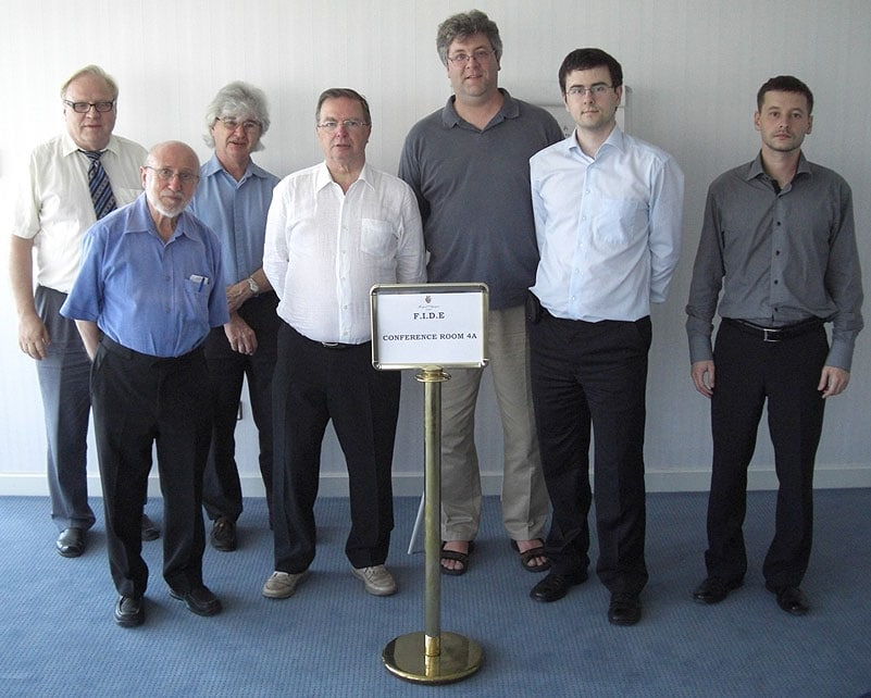 Markkula, Reuben, Faulks, Jarrett, Sonas, Macieja, Kukaev