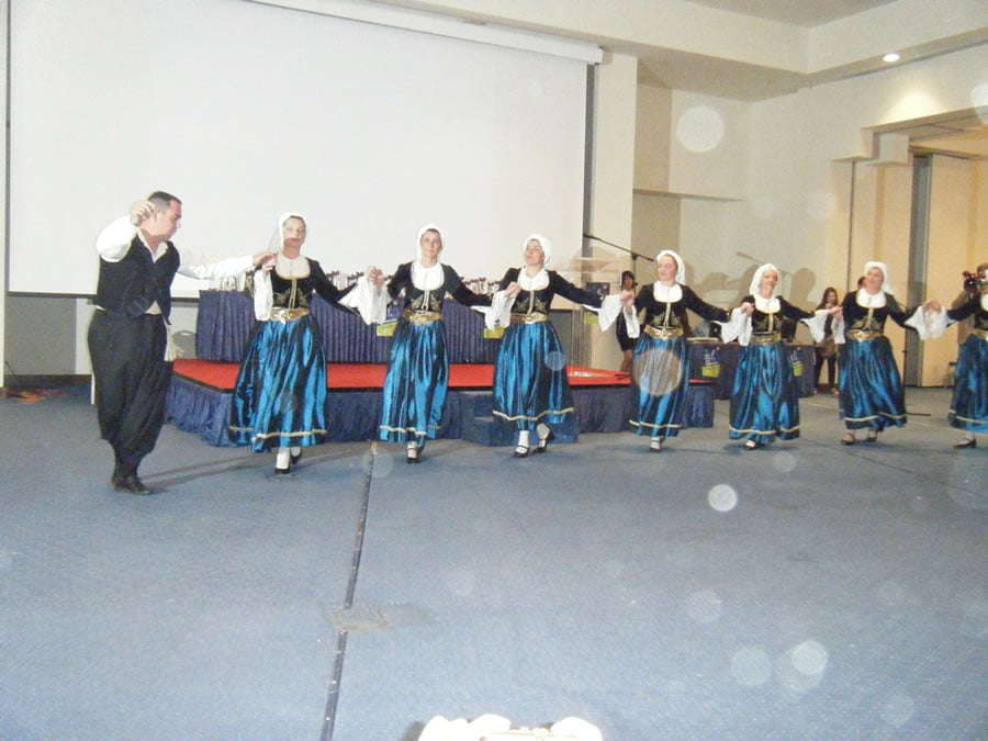 Greek Dancers - Closing Ceremony