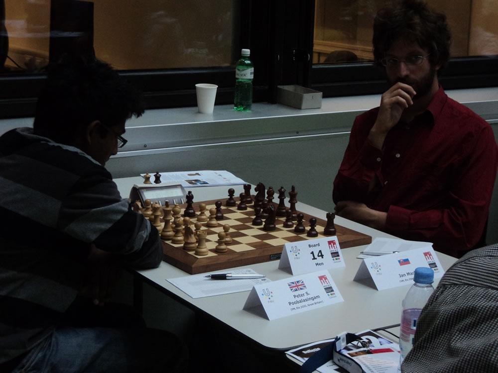 Peter v GM Markos round 4