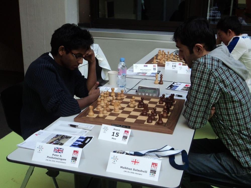 Peter v IM Sulashvili round 2