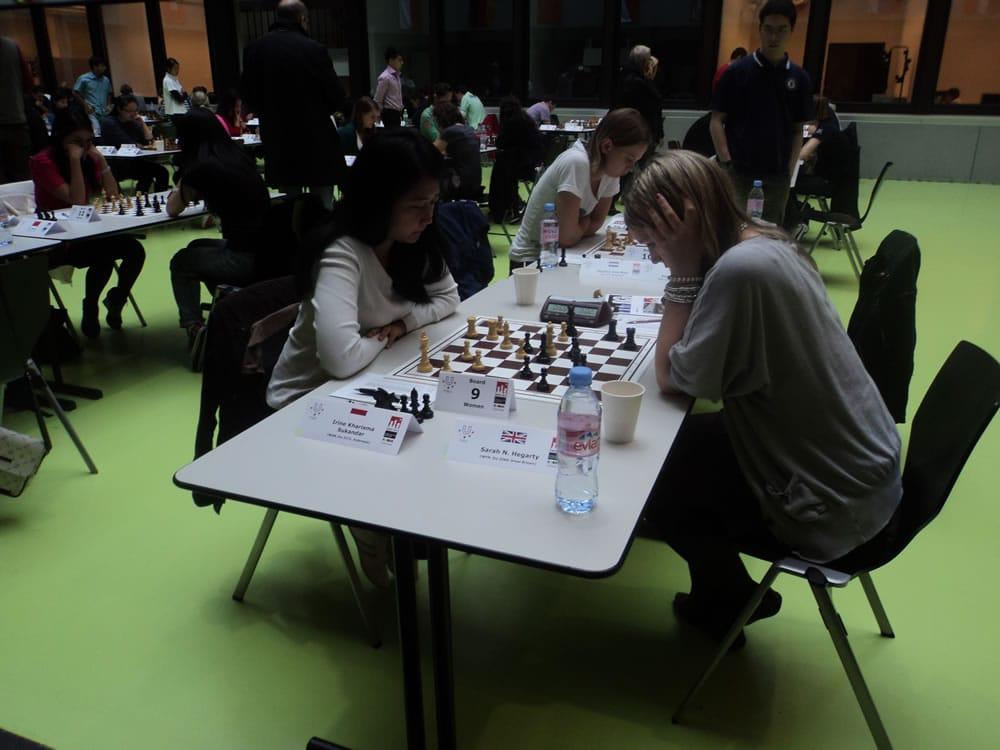 Sarah v Irene Sukandar, round 5
