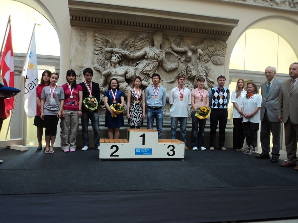 team and individual prizewinners