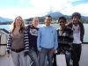 on the boat trip to Mount Rigi