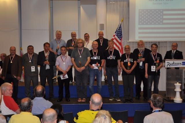 England wins Silver at World Senior Team Chess Championship