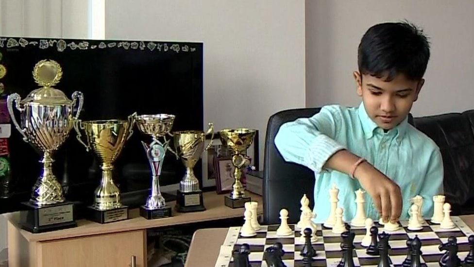 Chess prodigy Shreyas in visa endgame victory