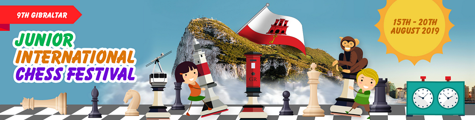 Gibraltar Junior International Chess Festival @ The Caleta Hotel, Sir Herbert Miles Rd, Gibraltar