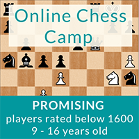 Online Chess Camp (ages 9-16) @ Online